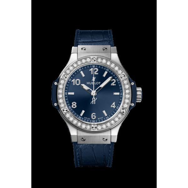 361.SX.7170.LR.1204 BIG BANG STEEL BLUE DIAMONDS