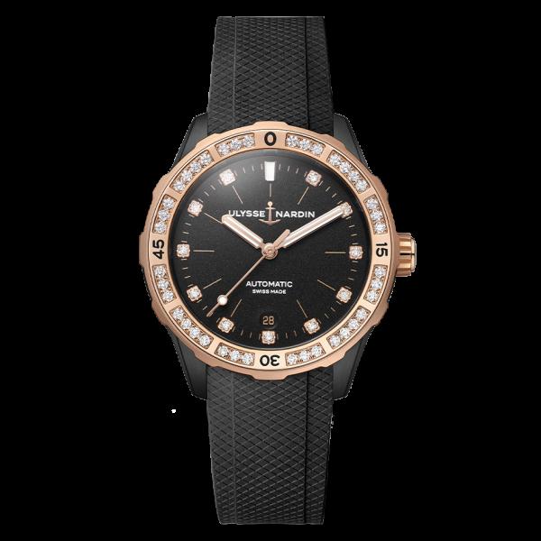 8165-182B-3-BLACK Lady Diver